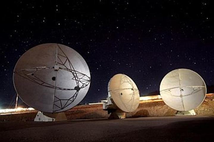 Atacama Large Millimeter Array (ALMA) radio astronomy telescope