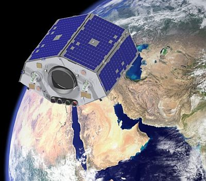 NigeriaSat-2 Earth observation satellite for disaster monitoring