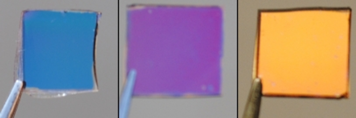 grating-based photovoltaic color filters