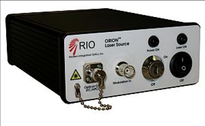 Redfern Integrated Optics (RIO) ORION benchtop laser source