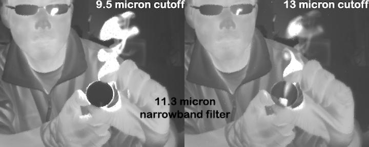 Superlattice cameras add color to night-vision imaging