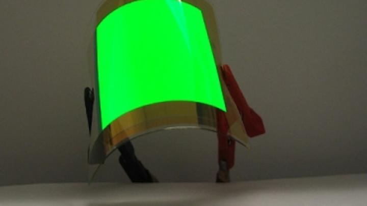 U. of Toronto scientists create world's most efficient flexible OLEDs on plastic