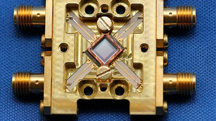 Superconducting array of microwave kinetic inductance detectors (MKIDs) spans UV to near-IR for astronomy