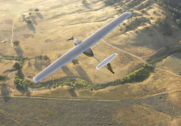The flight time of Lockheed Martin's Stalker unmanned aerial vehicle (UAV) system was extended 2400% to more than 48 hours using laser power beaming from LaserMotive
