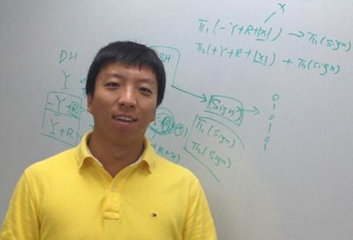 Doctoral student Qia Wang led research at the University of Missouri that resulted in the development of new software using the GPS and imaging abilities of a smartphone to determine the exact location of distant objects and monitor the speed and direction of those objects. (Courtesy University of Missouri)