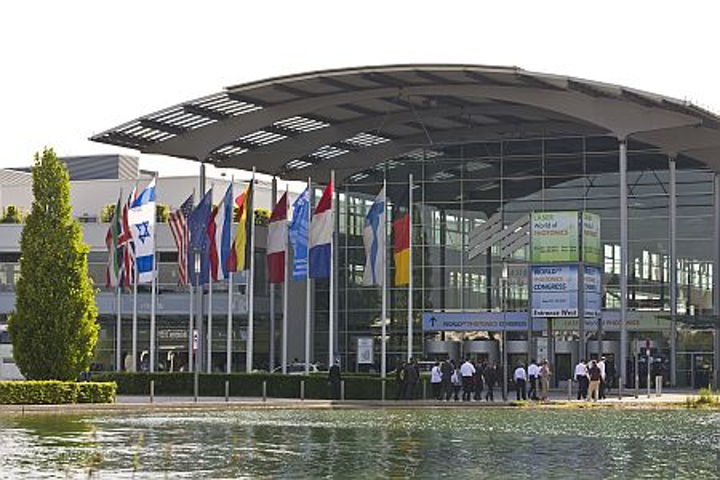 The Messe Munich fairground forms the setting for LASER World of Photonics 2013