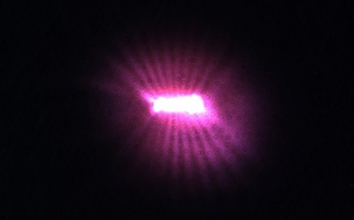 IR-emitting room-temperature nanowire lasers are based on gallium arsenide