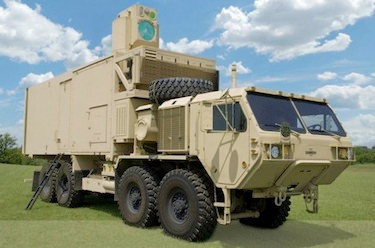U.S. Army's vehicle-mounted High Energy Laser Mobile Demonstrator shoots down UAVs, mortar rounds