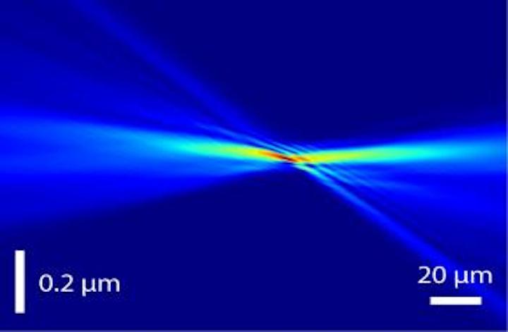 Lens developed for hard x-ray nanoprobe beamline achieves 11 nm focal spot