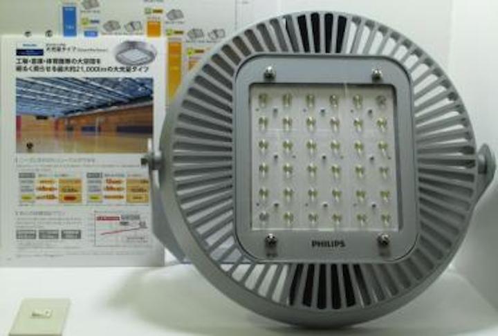 White-light LEDs aim for stadium lighting