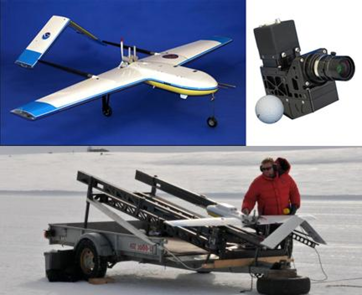 Headwall Photonics is supplying advanced hyperspectral sensors for climate cryosphere research using an unmanned aerial system. (Image credit: Headwall Photonics)