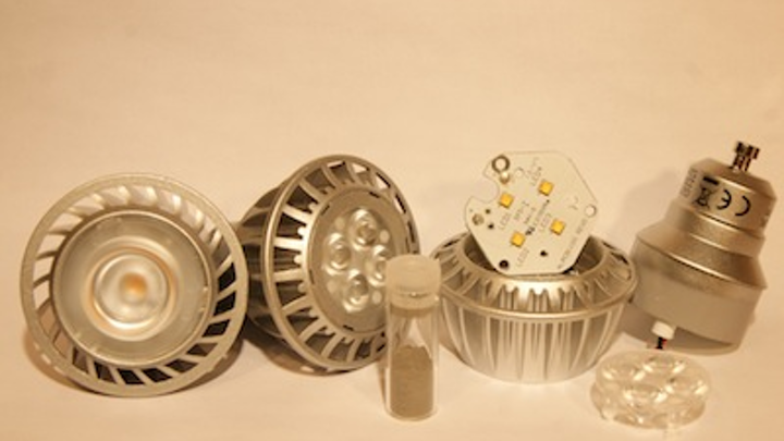 Nanodiamond/polymer composite helps to cool LEDs