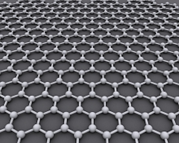 The structure of graphene consists of a single layer of carbon atoms arranged in a honeycomb pattern. A new simulation suggests that spiraling pulses of polarized laser light could change graphene's nature, turning it from a metal to an insulator. Led by researchers at SLAC and Stanford, the study paves the way for experiments that create and control new states of matter with this specialized form of light. (Image credit: AlexanderAlUS via Wikimedia Commons)