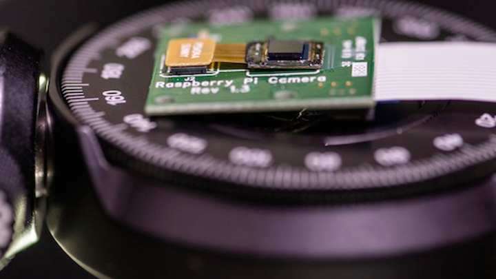 Rice University coded-mask camera is almost as thin as its sensor