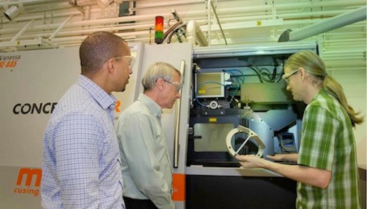 LLNL researchers model physics of laser 3D metal printing
