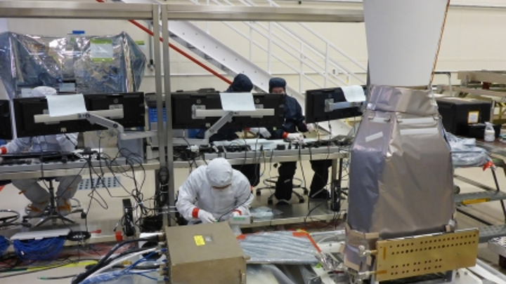 Lockheed Martin delivers second focal-plane-array lightning-tracking instrument for NOAA weather satellite program