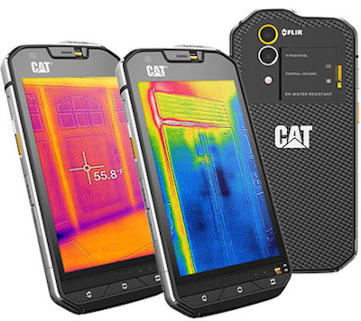 Cat S60 is first mobile phone to contain an integrated thermal camera
