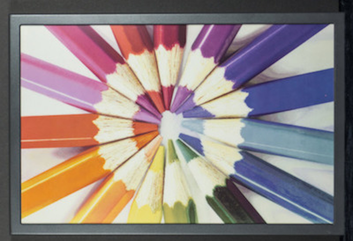 E Ink unveils advanced full-color electrophoretic reflective display