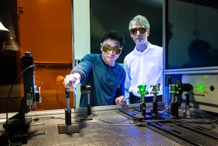Laser treatment helps to better bond carbon fiber to aluminum for lightweight cars