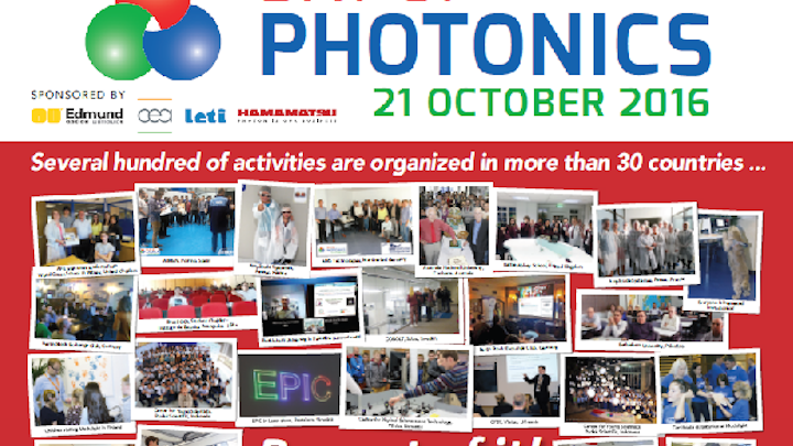 "EPIC is managing the 2016 Day of Photonics event to promote ""photonics"" to the general public. (Image credit: EPIC)"