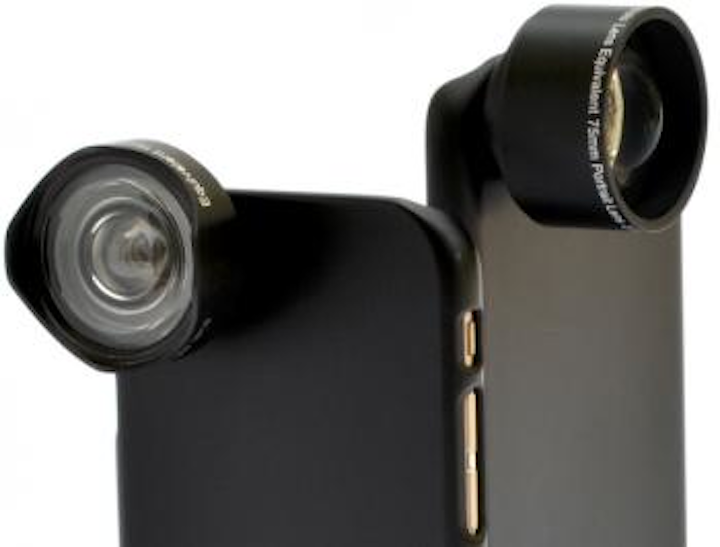 DynaOptics unveils phone camera lens attachments incorporating freeform lens technology