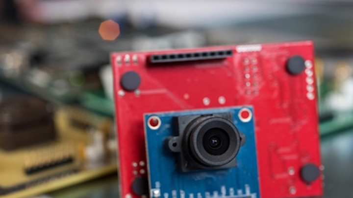 Low-power gesture-recognition camera is always on