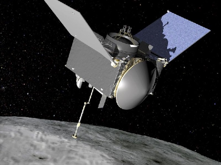 BEI Kimco's moving magnet voice coil actuator (VCA) will position the spectrometer on the Origins-Spectral Interpretation Resource Identification Security Regolith Explorer (OSIRIS-Rex) spacecraft that will rendezvous with the Asteroid Bennu in 2018 and return samples to Earth in 2023. (Image credit: BEI Kimco)