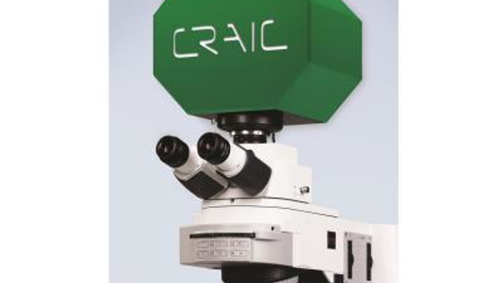 CRAIC Technologies Raman microspectroscopy instrument does rapid coal vitrinite reflectance and fluorescence measurements
