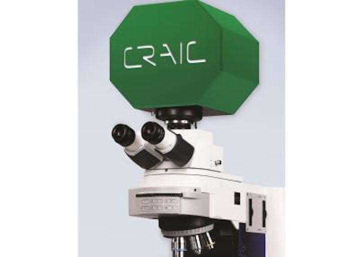 CRAIC Technologies Raman microspectroscopy instrument does rapid coal vitrinite reflectance and fluorescence measurements