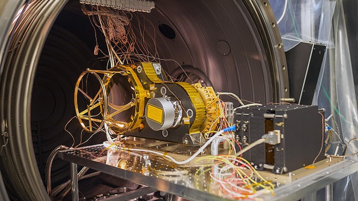 The BepiColombo Laser Altimeter (BELA) will map the surface of Mars. (Image credit: University of Bern/Ramon Lehmann)