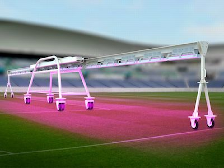 Sony LED-based lawn illumination system spurs grass growth