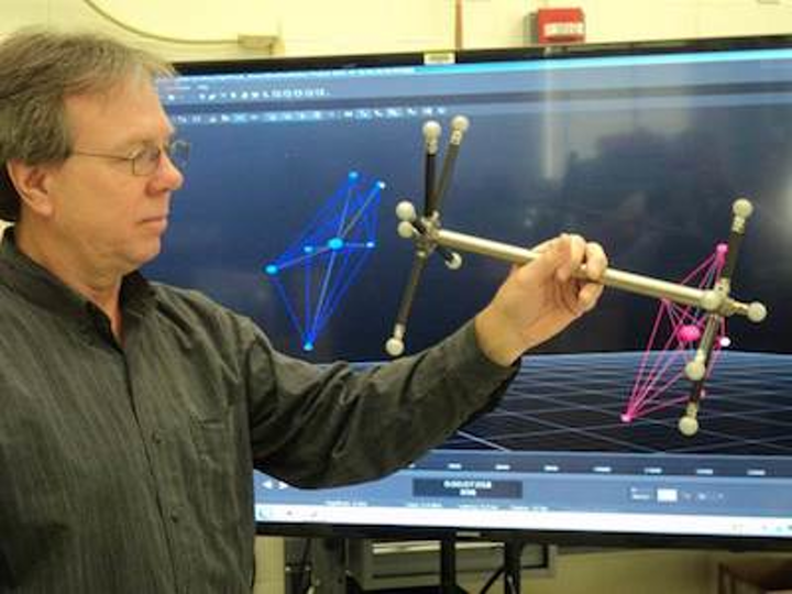 NIST creates tool and procedure to dynamically characterize optical trackers used on robotic arms