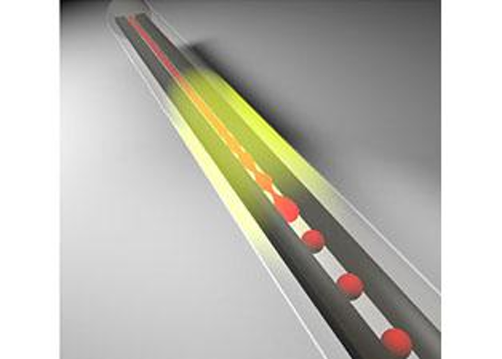 Connected to an electrical readout, a multimaterial fiber becomes a photodetector