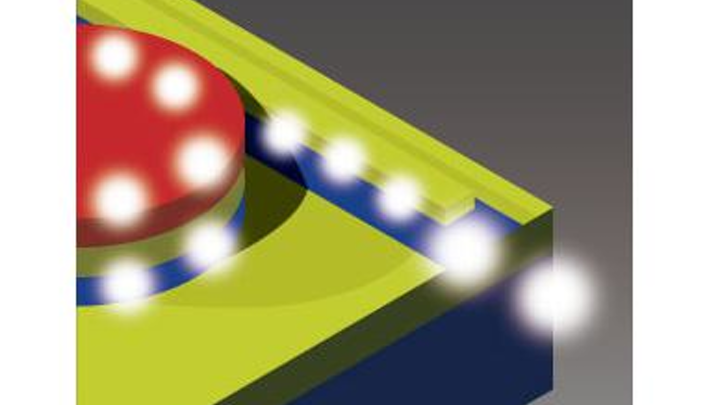 III-V microlaser in silicon photonic circuits can be made with industrial fabrication techniques
