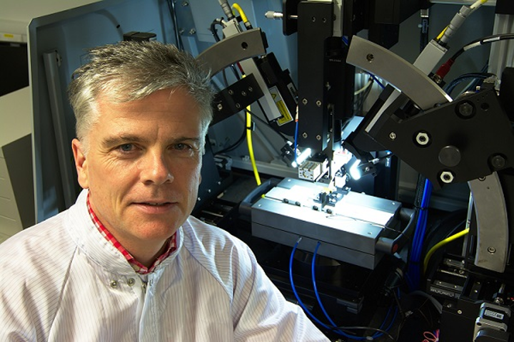 Professor Peter O'Brien is PIXAPP pilot line director and head of photonics packaging research at Tyndall National Institute. (Image credit: Tyndall National Institute)