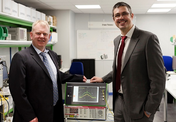 Aragon Photonics and Yenista Optics are partnering on optical spectrum analysis equipment for the fiber-optic test and measurement market. (Image credit: Yenista)