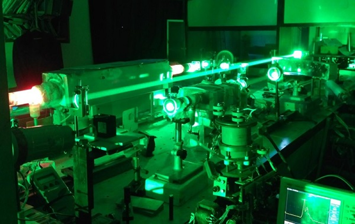An experimental model shows the dual (bistatic) laser monitor. (Image credit: Tomsk Polytechnic University)