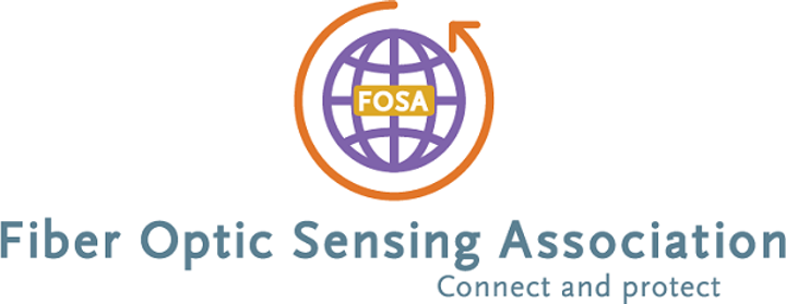 The logo for the new Fiber Optic Sensing Association (FOSA) is revealed in the association's website at www.fiberopticsensing.org. (Image credit: FOSA)