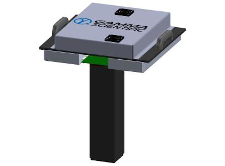 Programmable LED light source replaces halogen calibration sources for wafer-level image sensor and detector testing
