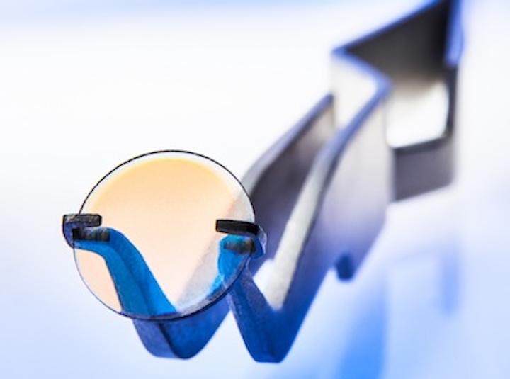 Diamond lenses make materials-processing laser optics lighter