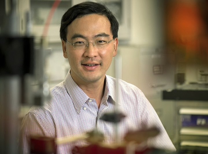 Weidong Zhou, UTA professor of electrical engineering, received a Multidisciplinary Research Initiatives grant to build a better semiconductor laser. (Image credit: University of Texas at Arlington)
