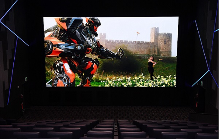 'Through sharper and more realistic colors, complementary audio and an elevated presentation, our Cinema LED Screen makes viewers feel as if they are part of the picture,' said HS Kim, president of Visual Display Business at Samsung Electronics. 'We are excited to partner with Lotte Cinema to bring this technology to theater-goers, and look forward to continuing to shape the cinema of the future.' (Image credit: Samsung)