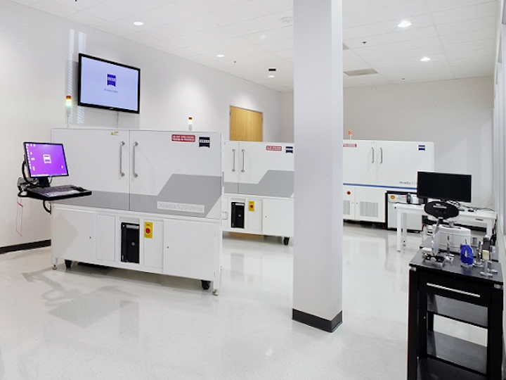 The newly opened ZEISS Customer Center located in Pleasanton, CA will offer demonstrations, applications development, and training on the company's portfolio of optical, ion, electron, and X-ray microscopy offerings including process control solutions. (Image credit: ZEISS)