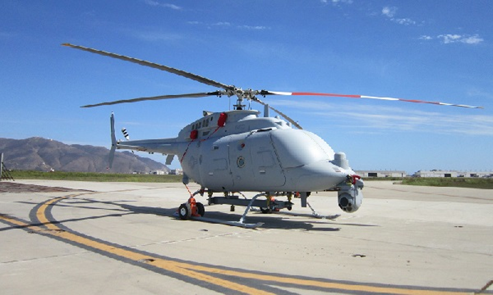 The MQ-8 Firescout helicopter will carry the nighttime illuminator from Bodkin Design, along with other mission critical payloads. (Image credit: Bodkin Design)