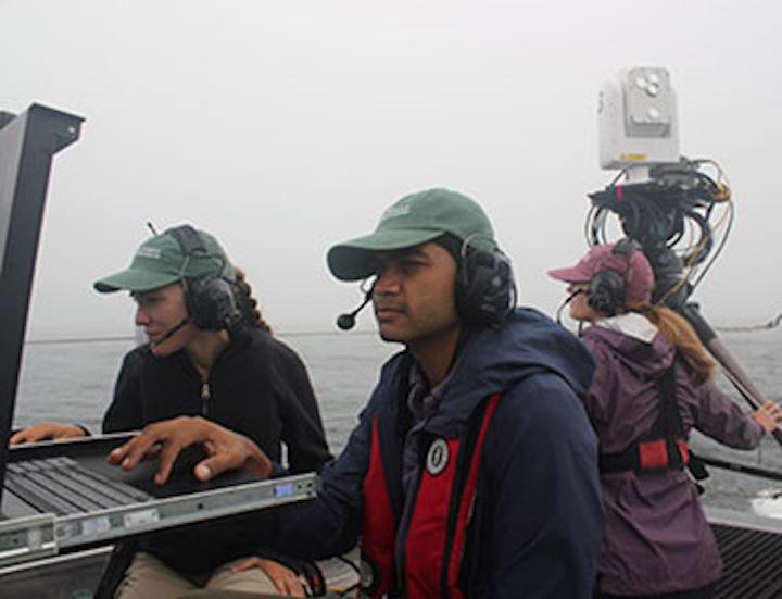 Johns Hopkins team demonstrates high-bandwidth free-space optical communications at sea