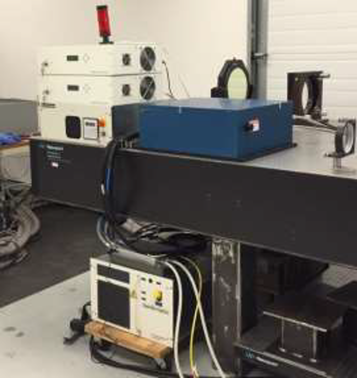 A 1030 nm, 250 W illuminator laser is a reliable, turnkey, computer-controlled instrument designed for long-term operation. (Image credit: Sparkle Optics)