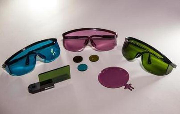 Many laser-safety eyewear products do not meet specs for shielding light from ultrafast lasers