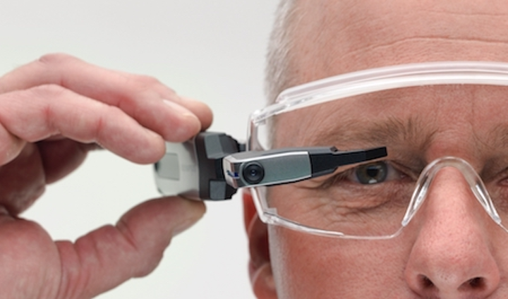Olympus introduces smart glasses for use in the enterprise