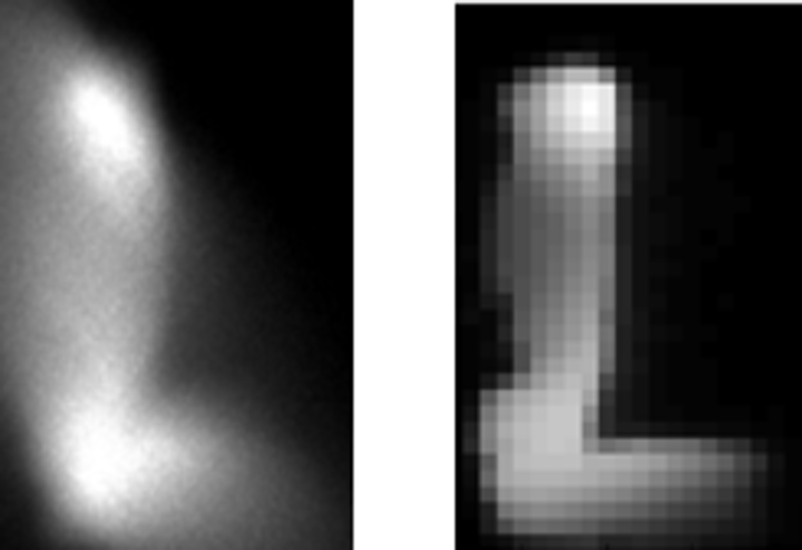 Images are shown captured by the CAOS camera. (Image credit: University College Cork)