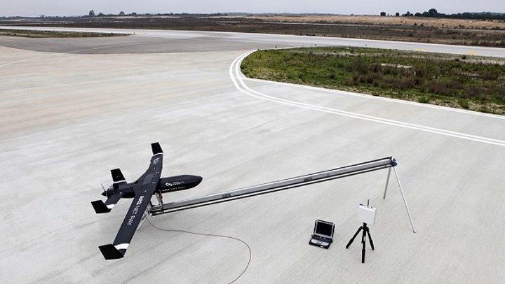 A drone fitted with a mid- and long-wave infrared sensor system can be used to collect gases in real time for on-the-spot-processing of spectral data, improving the rapid response process. (Image credit: Photonics PPP)